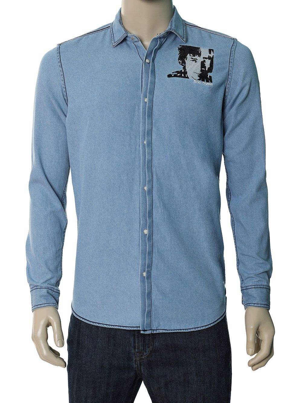 Men's Denim Shirt