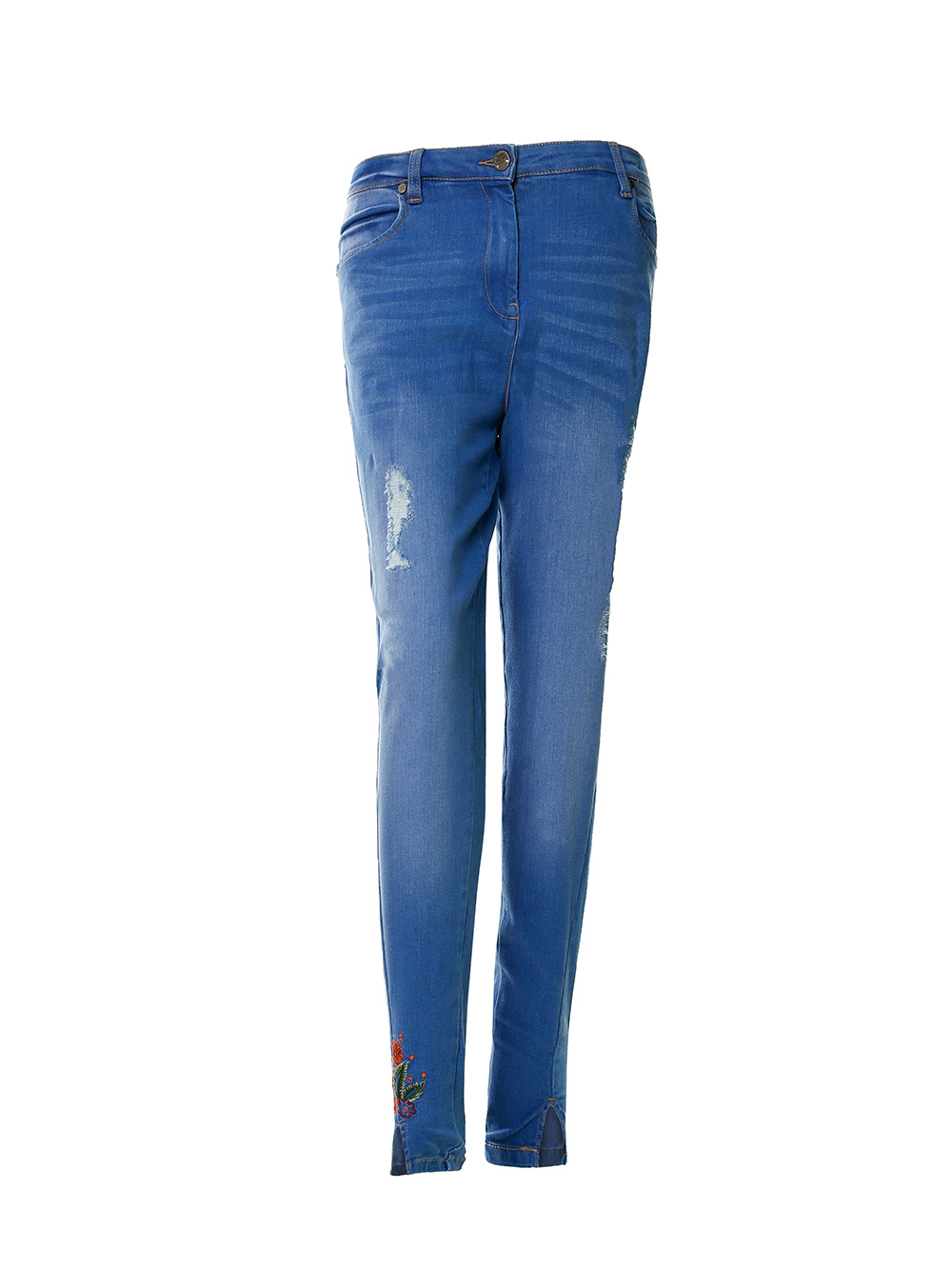 women's denim bottom